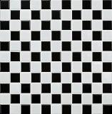 سوداء وبيضاء خزف فسيفساء ([ك525002])