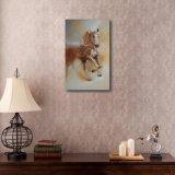 油絵の連続した馬