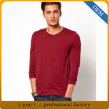 T-shirts de chemise du coton des hommes en gros longs