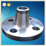 Borde del acero inoxidable de la forja del CNC que trabaja a máquina