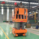 Equipo aéreo conducido hidráulico de la venta caliente y eléctrico automotor de la elevación del funcionamiento