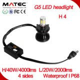 2017 Matec New Design Super Quality Motorcycle Round Headlight, H1 H4 H7 H11 9005 9006 9007 880/881