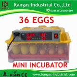 CE NOUVEAU MODÈLE automatique approuvé 2014 Mini-incubateur d'oeufs de poulet (KP-36)