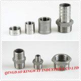 Instalaciones de tuberías roscadas del acero inoxidable, 304/316