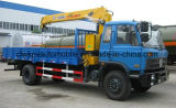 Camion di sollevamento della gru del camion di Dongfeng 4*2 da vendere