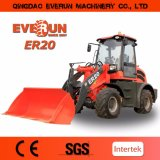 Machine de construction Everun 2 tonnes du chargeur hydraulique diesel 4WD