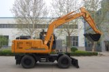 Pequeño excavador rodado excavador rodado 12 toneladas