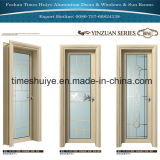 フォーシャンNanhaiはHuiyeの良質のアルミニウム開き窓のドアを時間を計る