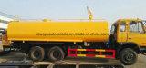 Camion de réservoir de transport de l'eau de Dongfeng 6X4 20000 L camion d'arroseuse