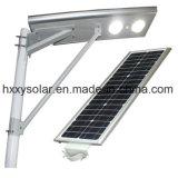 Neuer Entwurf 70W integrierte alle in einem LED-im Freien Solarstraßenlaterne