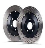 Substitution des disques Mdc1806 Adj134308 Jdi080 92158900 277942103704 de frein pour le disque de frein de Tata