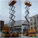 Scissor la plataforma hidráulica móvil de la elevación del funcionamiento del vector de elevación