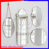Comités van de Spiegel van het Aluminium van de Besnoeiing van 3mm8mm de Goedkope Naar maat gemaakte Zilveren