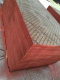 La película hizo frente a la madera contrachapada/al material de construcción/a la madera contrachapada de la construcción