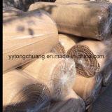 Los materiales de aislamiento térmico de fibra de cerámica refractaria tela con revestimiento de la Vermiculita