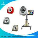 Recomendação facial profissional dos produtos do analisador da pele