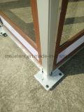 tenda di legno personalizzata blocco per grafici di alluminio di vetro di struttura di 10X24m
