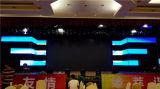 Visualización de LED de interior P4 a todo color para la instalación fija