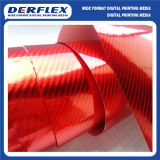 Vinyle à fibre de carbone pour l'emballage de voiture