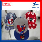 Petit chapeau promotionnel blanc de sports de MOQ pour le modèle fait sur commande de logo