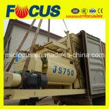 Pequeña máquina forzada del mezclador concreto de Js750 750L