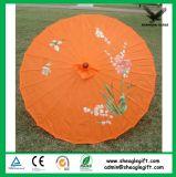 Выдвиженческий изготовленный на заказ зонтик парасоля венчания печати логоса