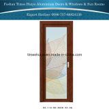 Design agradável casa de banho de dobradiça de Alumínio& Porta de cozinha com preço mais barato