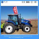 2017 neuester Typ 125HP 4 Rad-Laufwerk-landwirtschaftlicher Dieseltraktor für Bauernhof /Pasture
