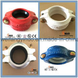 Garnitures de pipe Grooved de fer malléable avec des certificats de FM/UL/Ce