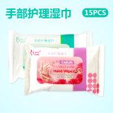 15 pcs sac à main et le nettoyage des soins de lingettes humides