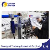Máquina de marcação a laser de PVC em linha