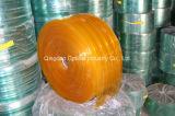 De antistatische Gele Plastic Gordijnen van de Strook van pvc