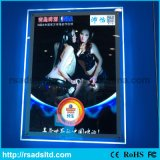 Slim LED Advertising Crystal Acrylic Light Box Display