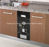 De ingebedde Automaat van de Rijst voor Keukenkast met het Patroon van de Bloem