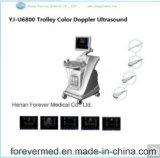 Scanner medico di ultrasuono di Doppler di colore del carrello del laboratorio Yj-U6800