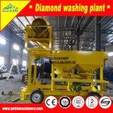 Drehung-beweglicher Goldschlüsseldiamant-waschende Pflanze beenden