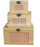 SGS Audited Supplier Elegant Customized Garden Wooden Stack Box