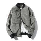 Jaqueta de lã de inverno com capa de inverno com fecho de moda