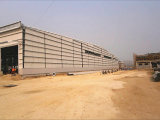 La costruzione d'acciaio chiara struttura il workshop