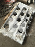 Hitzebeständige Form-Gefäß-Blatt-Konvektion-Form-Gefäß-Support