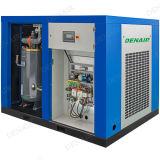 La vente chaude silencieuse dirigent le compresseur d'air rotatoire conduit de vis