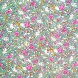 Petit tissu de rayonne visqueuse estampé floral pour l'habillement de femmes d'été