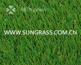 柔らかい景色の人工的な草(Sunq-Hy00133