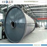 2800-6600 16mm épaisseur 12tonne réacteur de pyrolyse pour la vente