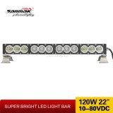 "22 "" automobili di barra chiara fuori strada luminose di 120W LED parte una barra chiara da 12 volt LED"