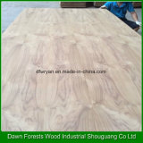 3,6 mm, 3,2, 5,0 mm de alta calidad CC/CC de contrachapado de chapa de madera de teca natural
