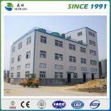 Fournisseur préfabriqué de bureau de structure métallique de deux histoires à Qingdao