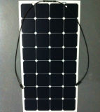 최고 가격 중국 직접 100W Monocrystalline 반 유연한 태양 전지판