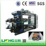 Hightechplastik-PET Ytb-4800 Film Flexo Druckmaschinen