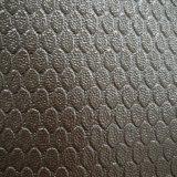 I bagagli antisdrucciolevoli insaccano il cuoio di cuoio del PVC